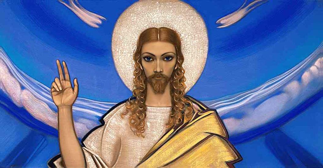 Картинки по запросу С.Н.Рерих «Христос с учениками»