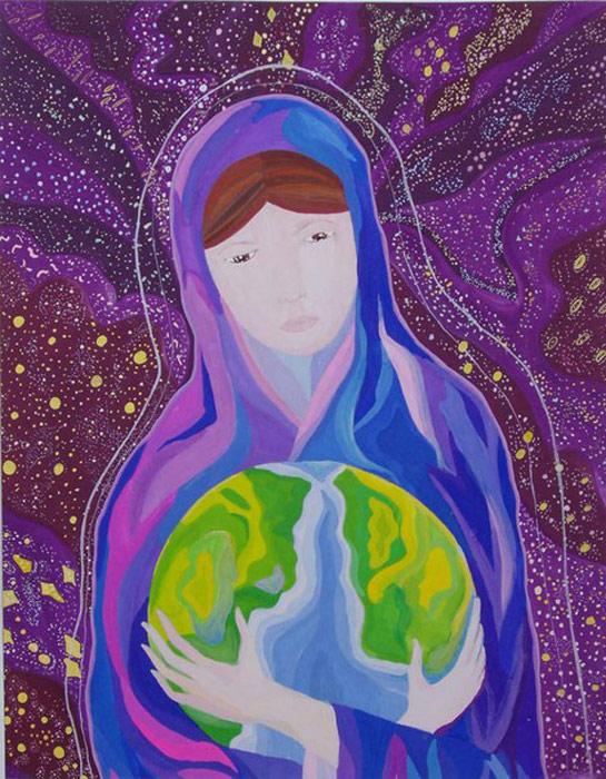 Рисунок мир духовный и мир земной